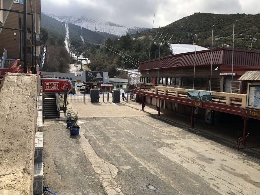 Valla en La Pinilla