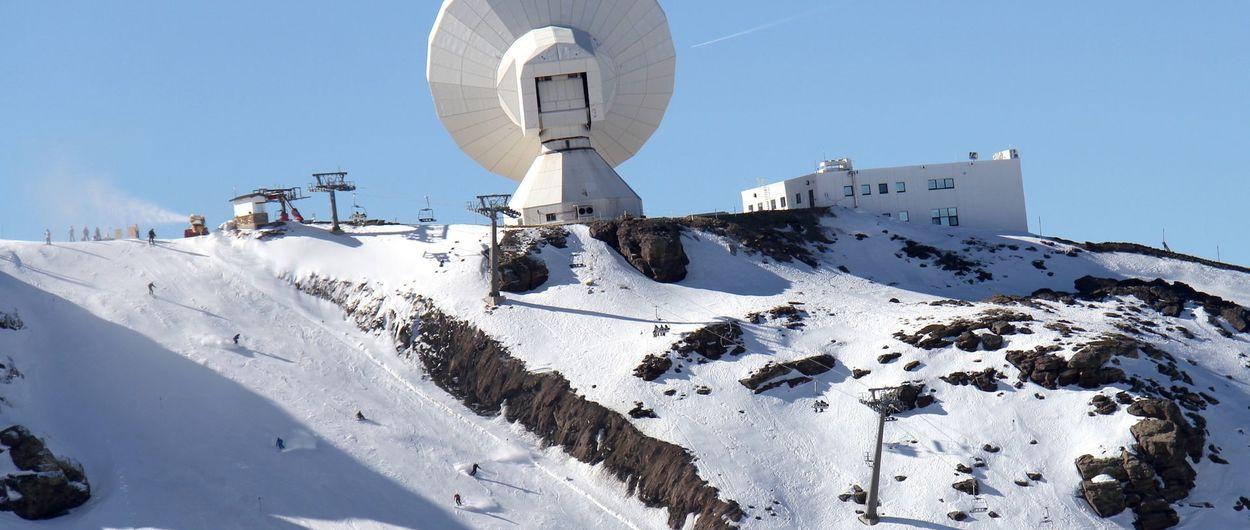 Sierra Nevada abre más pistas aprovechando el bajón de temperaturas