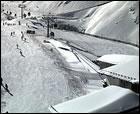 Imágenes de las estaciones tras 4 días de nevadas