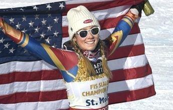 Mikaela Shiffrin gana el oro tal como se esperaba
