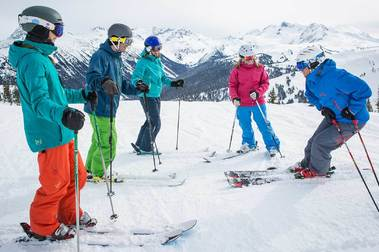 El mejor profesor de esquí del mundo