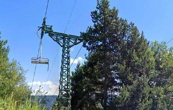 Alp quiere recuperar el histórico telesilla de la estación de tren a La Molina