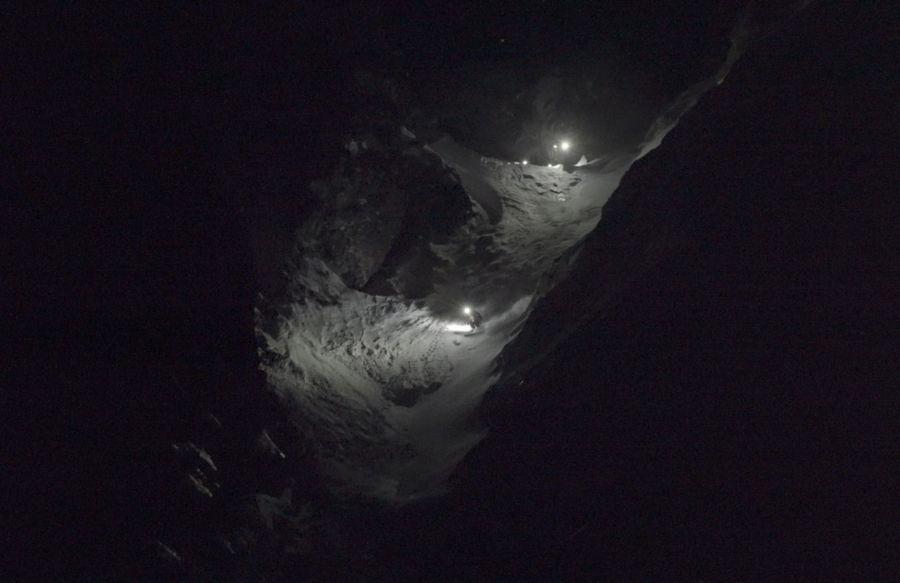Aymar Navarro descenso nocturno