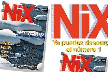 Ya puedes descargar el nº 1 de NIX