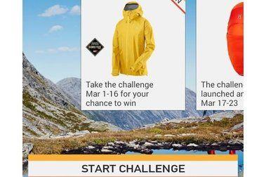 Haglöfs te desafía con la App L.I.M Challenge