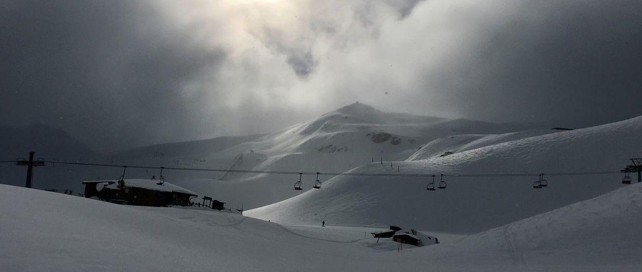 Fin de semana de nevadas en Astún