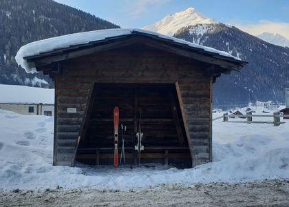 Alberg: Esquiar en el paraíso