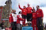Ocho medallas para la selección de Euskadi de esquí adaptado