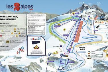 Les 2 Alpes abre su temporada de esquí y VTT de verano el próximo 6 de junio