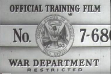 Seguridad en el esquí (Departamento de Defensa EE.UU. 1942)