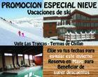 Gran Promoción en Misión Imposible Lodge (Nevados de Chillán)