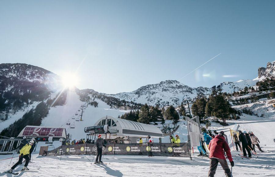 telesilla de esquí en Ordino arcalís