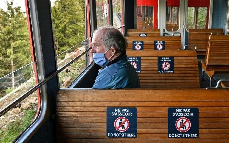 tren de Mont Blanc