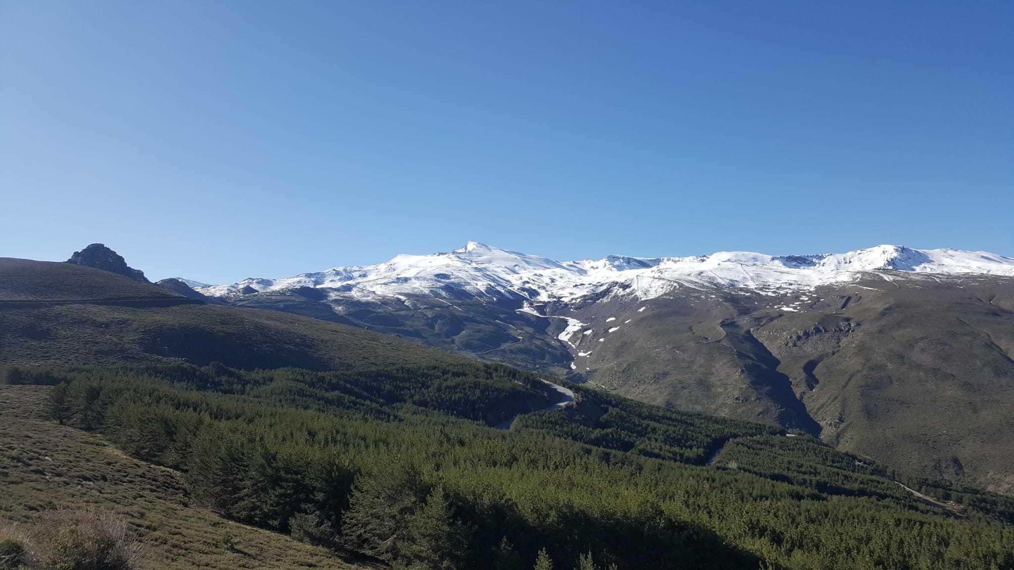 primera esquiada despues del covid