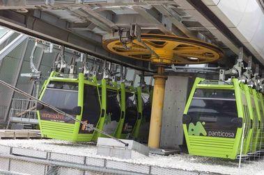 Aramón se lleva la telecabina de Zaragoza a alguna estación de esquí