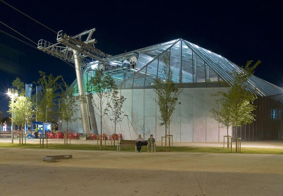 Telecabina Expo de Aramon en Zaragoza