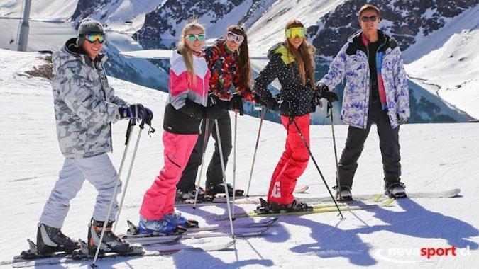 Argentinos vienen a Chile a esquiar por falta de nieve en su país