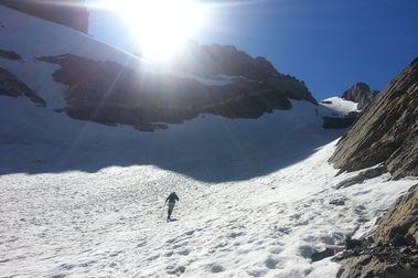 La nieve de Ordesa en Julio