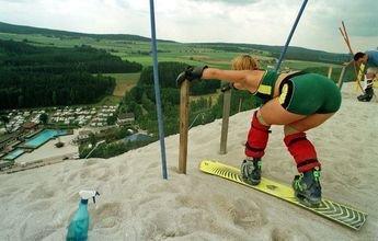 Monte Kaolino: La pista de esquí que apareció en Alemania