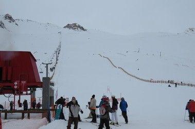 ¡Más nieve en Penitentes!