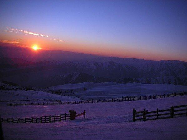 El sol se va de El Colorado