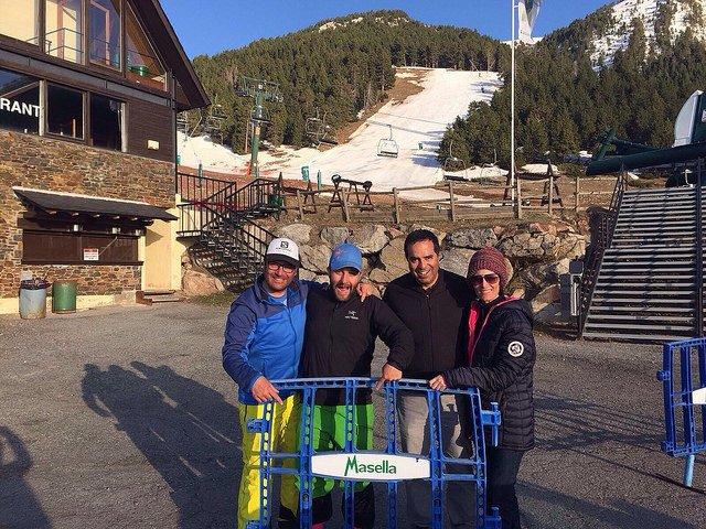 Hablamos de esqui? team