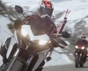 Ducati y Warren Miller se unen en 'Line of Descent'