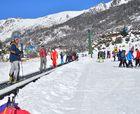 90 días ininterrumpidos de esquí en la base de Cerro Catedral