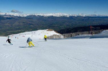 ¿En qué estación hay más nivel de esquí?