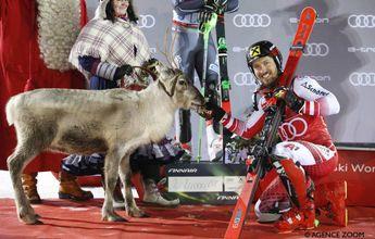 Marcel Hirscher gana el slálom de Copa del Mundo de esquí en Levi