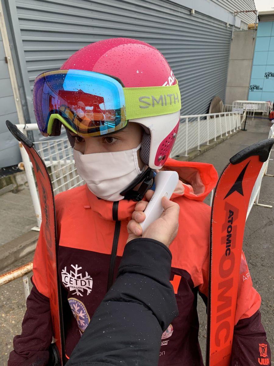 Esquiador COVID