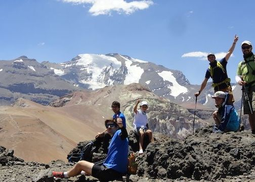 Trekking Familiar en La Parva