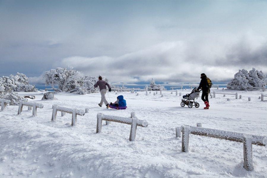 Mont-Aigoual en invierno - Paul Palau