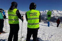 Policia Goierno de Aragón esqui+ç