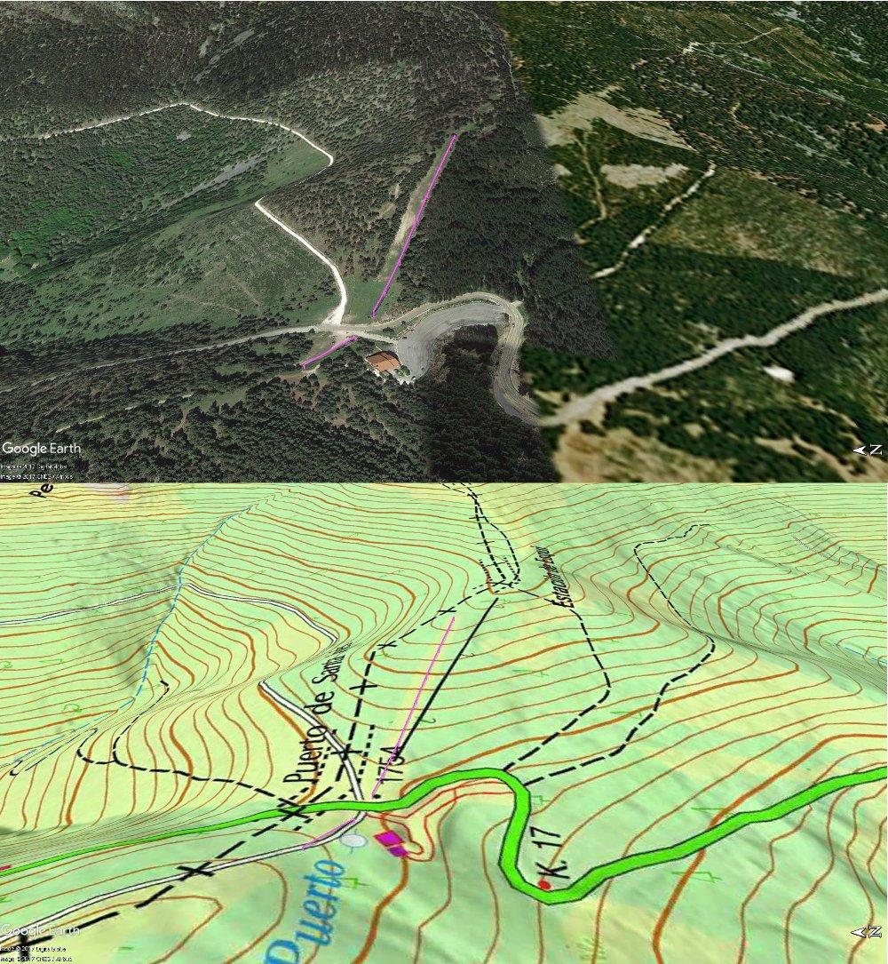 Vistas Google Earth Santa Inés 2017-18