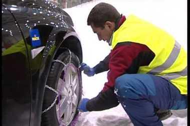 Vuelve la nieve. Consejos sobre conducción.
