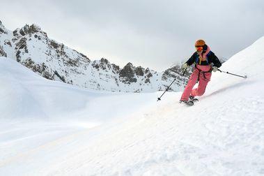 El otro esquí