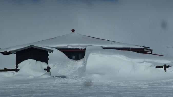 Que bonito Astun con nieveee!!!