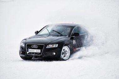Baqueira estrena circuito de conducción Audi