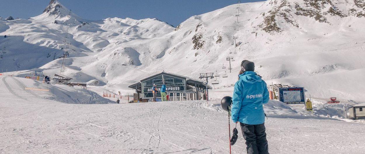 Abren las estaciones de esquí de N'PY