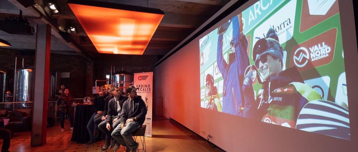 El Freeride World Tour vuelve a Ordino por quinto año consecutivo