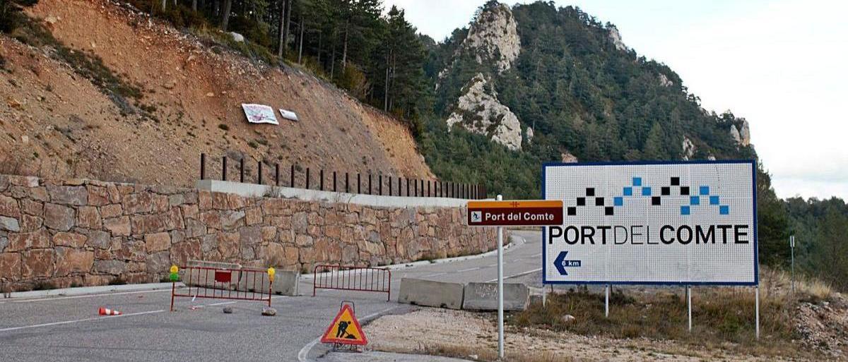 La Generalitat mejorará los accesos a la estación de esquí del Port del Comte