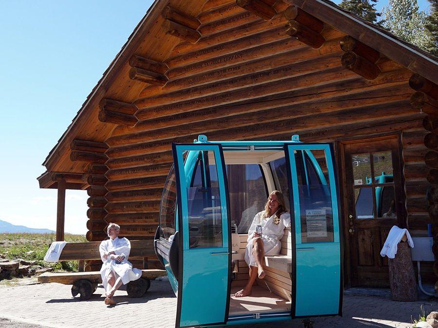 Telecabina Sauna