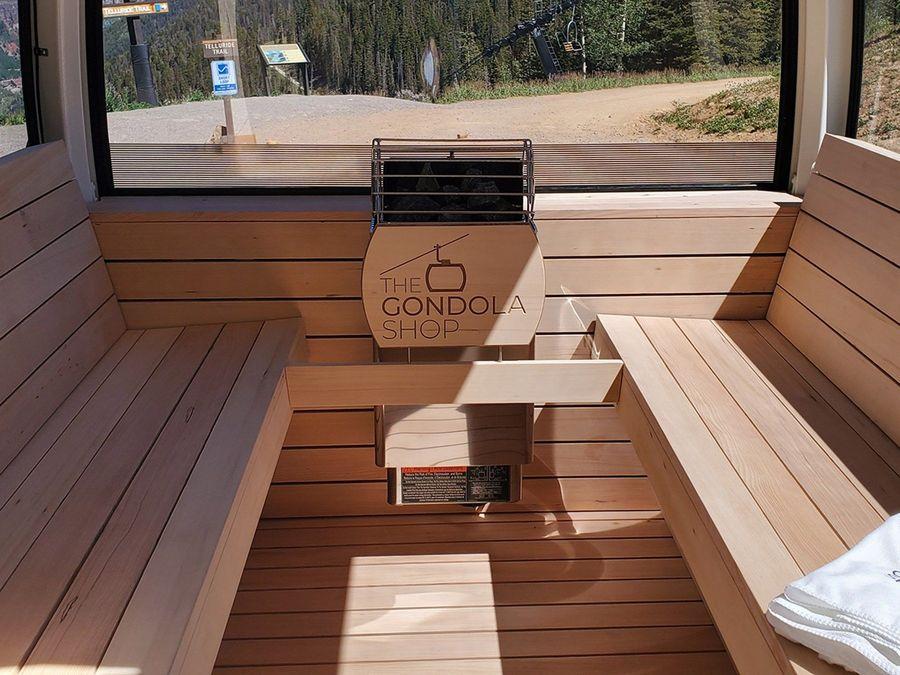 gondola sauna