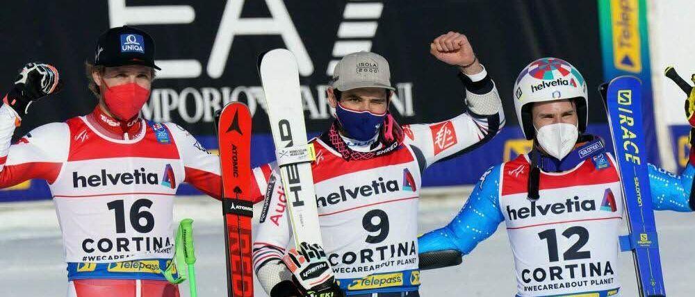 Mathieu Faivre logra en el Gigante su segundo oro de Cortina d'Ampezzo 2021