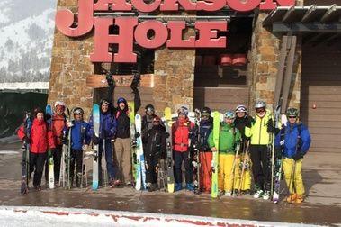 En la mejor estación de USA: Jackson Hole