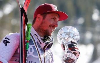 Marcel Hirscher gana su sexta Copa del Mundo consecutiva