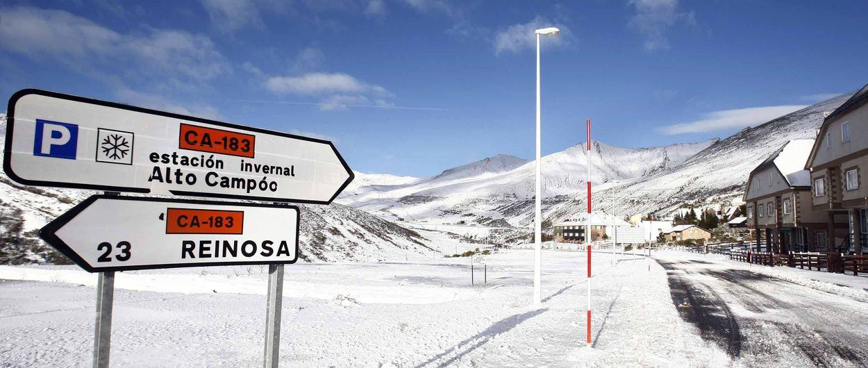 Alto Campoo cierra con récord de venta de abonos de temporada de esquí