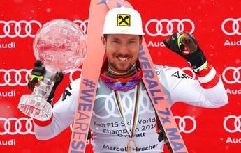 Marcel Hirscher iguala el récord de Stenmark y Maier