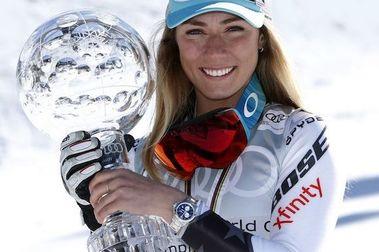 Mikaela Shiffrin bate el récord de dinero ganado de la Copa del Mundo de esquí alpino